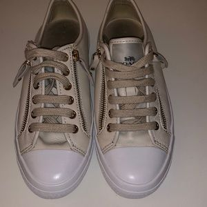 Coach Women's Empire Zip Lace-Up Leather
